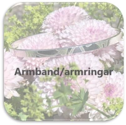 Armband/Armringar - Silver by Titti