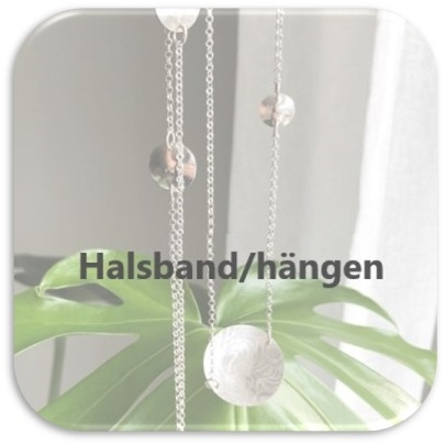 Halsband/Hängen - Silver by Titti