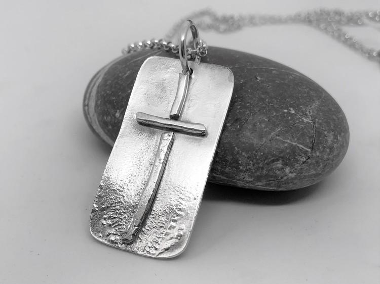 Kors på platta