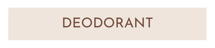 Deodorant - Fröken Grön's