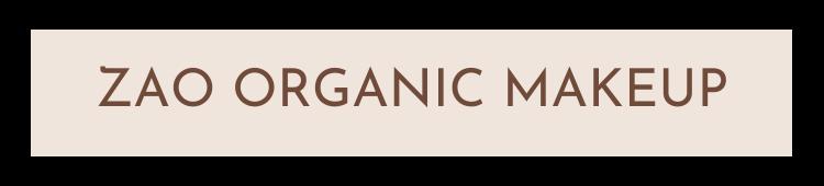 Zao Organic Makeup - Fröken Grön's