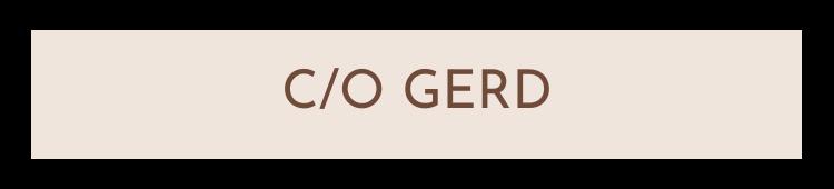 c/o Gerd - Fröken Grön's