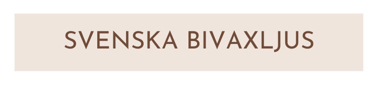 Svenska Bivaxljus - Fröken Grön's