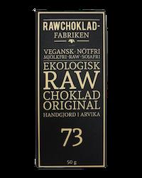 Rawchokladfabriken - Ekologisk rawchoklad 73% - Original
