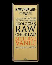 Rawchokladfabriken - Ekologisk rawchoklad 73% - Mullbär & Vanilj