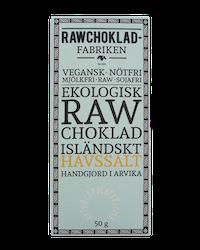 Rawchokladfabriken - Ekologisk rawchoklad 73% - Havssalt