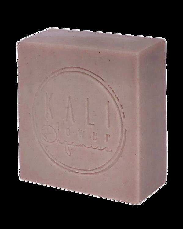 KaliFlower Organics - Ekologisk handgjord tvål - Purple clay & Frankincense