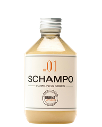 BRUNS - Schampo nr. 01 - Harmonisk kokos