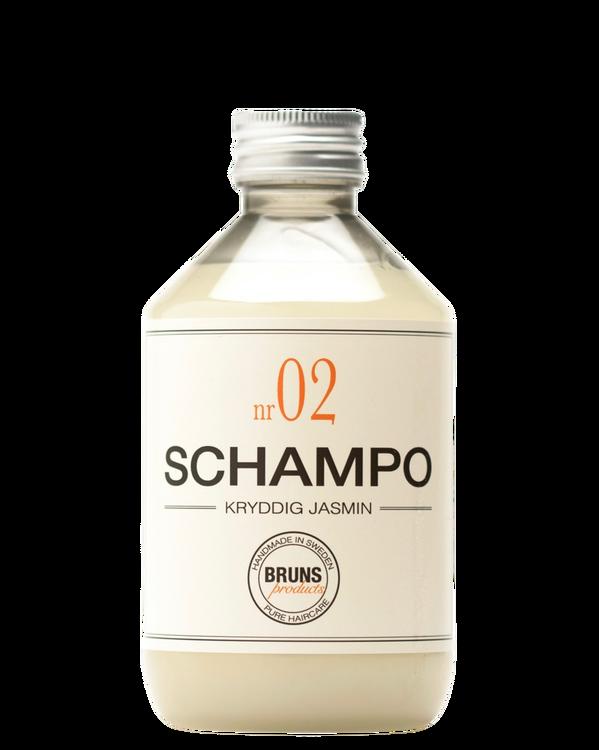 BRUNS - Schampo nr. 02 - Kryddig Jasmine
