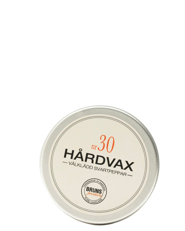 BRUNS - Hårdvax nr. 30 - Välklädd Svartpeppar