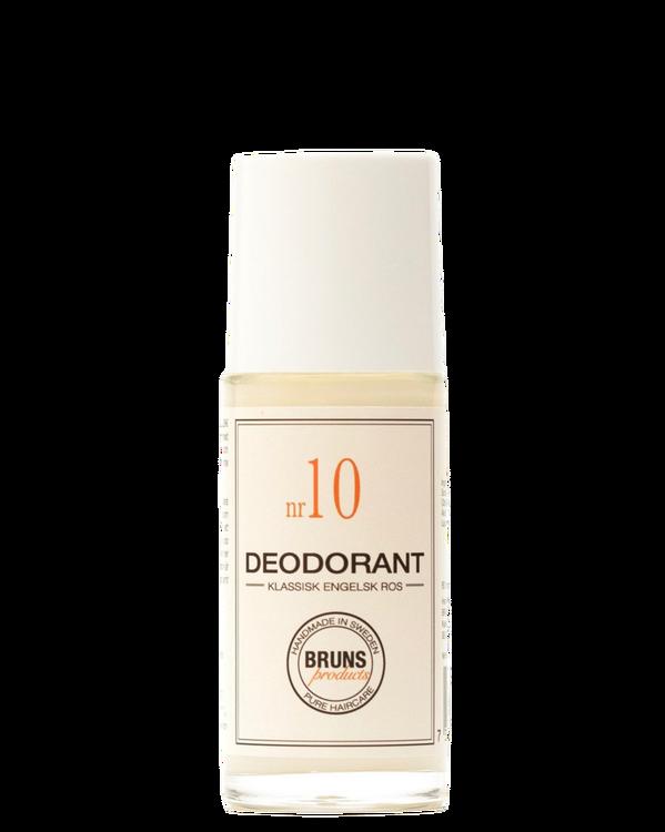 BRUNS - Deodorant nr. 10 - Klassisk Engelsk Ros
