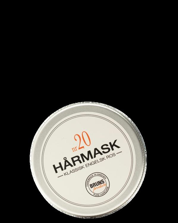 BRUNS - Hårmask nr. 20 - Klassisk Engelsk Ros