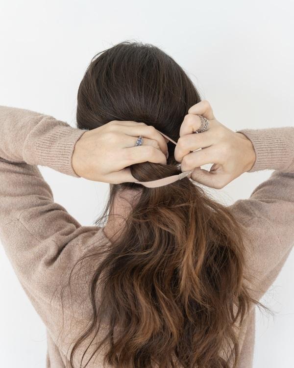 Kooshoo - Ekologiska hårsnoddar - 5-pack - Ginger