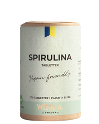 Wissla - Ekologiska spirulinatabletter