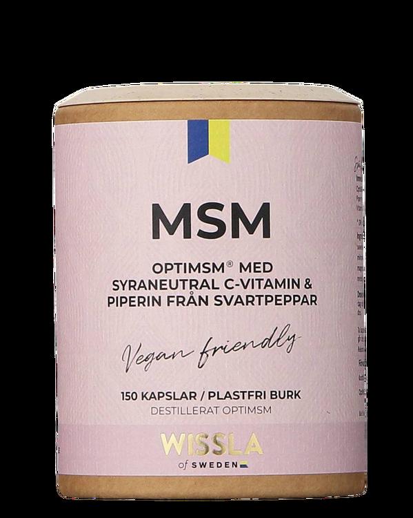 Wissla - MSM med C-Vitamin + Piperin