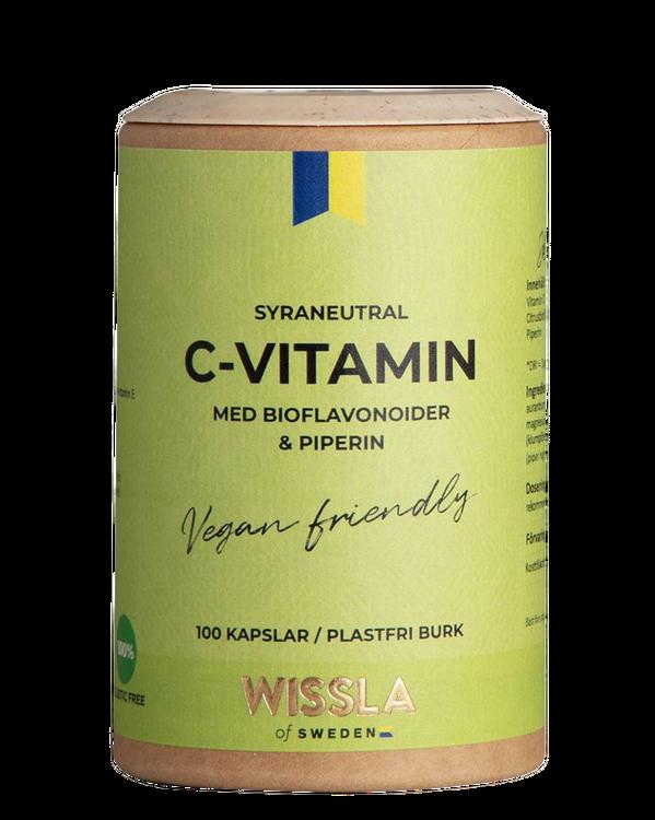 Wissla - C-Vitamin med Bioflavonoider och Piperin