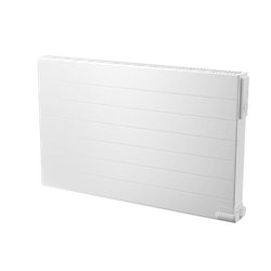 YALI RAMO PLAN FRONT MED VANNRETTE LINJER Varmeovn 1000W, 230V H=300 L=1000 Dobbelt panel