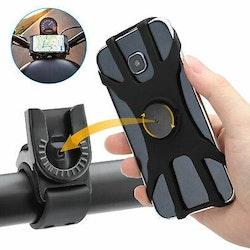 Mobilhållare med 360° vridbarhet