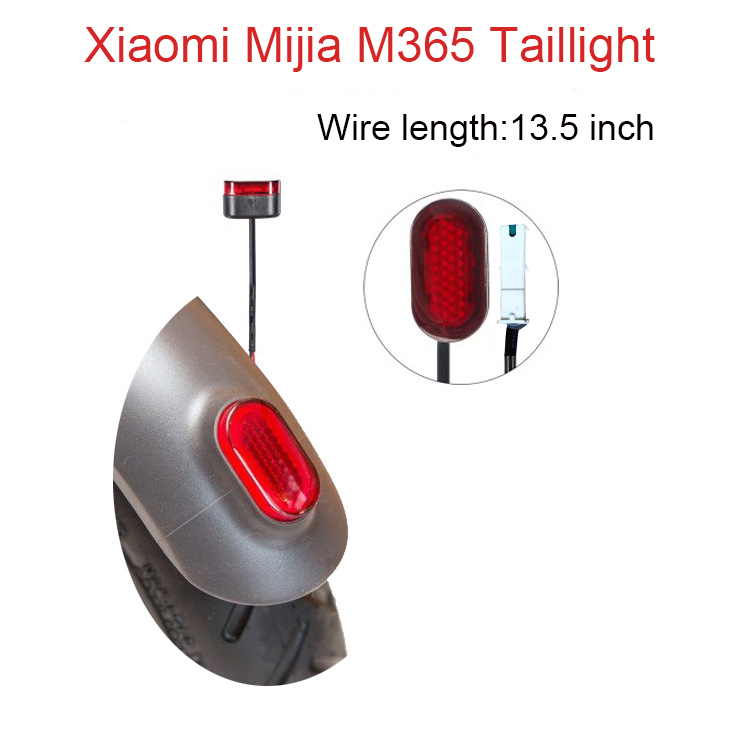 Xiaomi M365 Baklampa