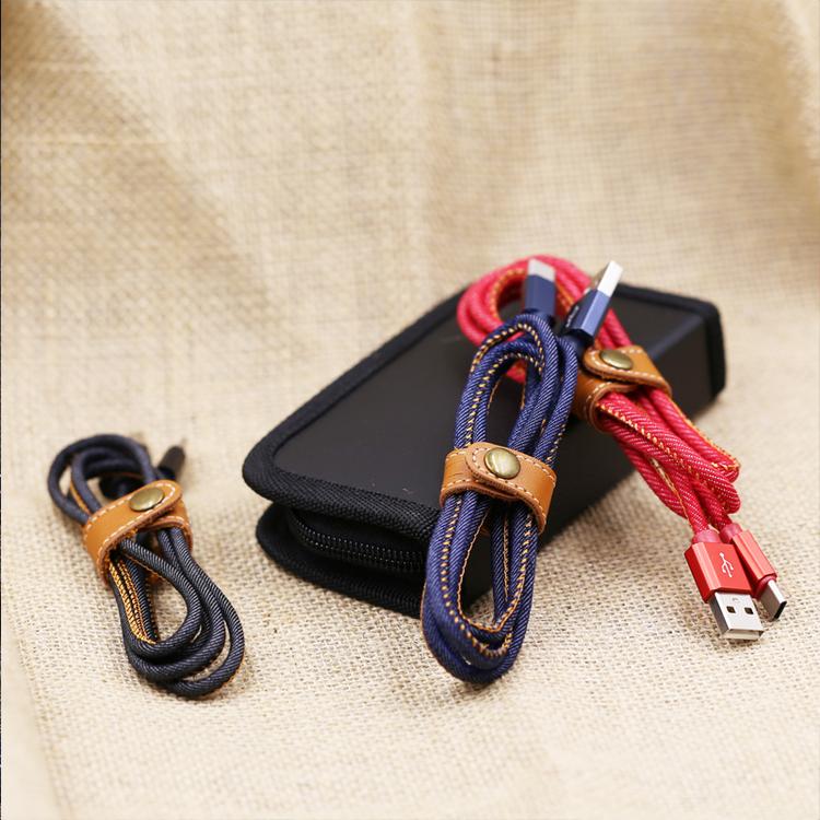 Klassisk USB-C kontakt jeansinspirerad i olika färger