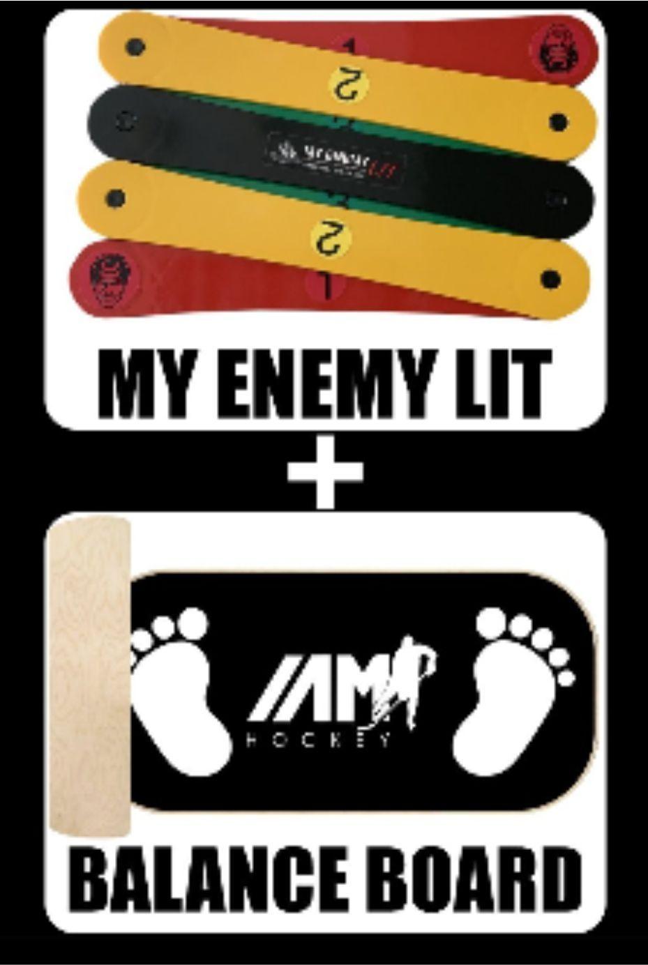 MY ENEMY LIT + BALANCE BOARD