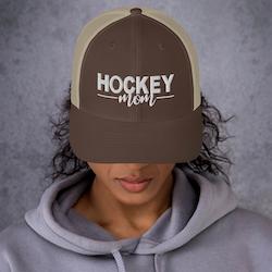 """Trucker Cap ''HOCKEY MOM"""""""