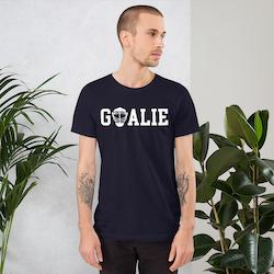 """T-skjorte """"GOALIE"""""""