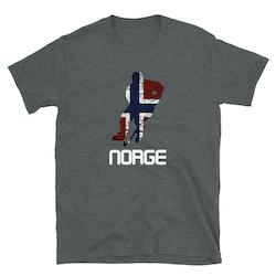 NORGE HOCKEY #5 T-skjorte
