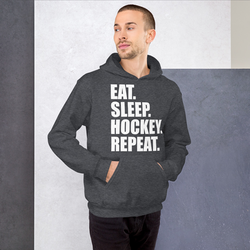 Hettegenser ''EAT. SLEEP. HOCKEY. REPEAT.""