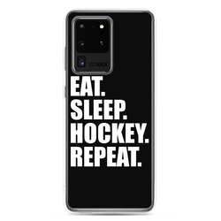 Samsung Case ''EAT,SLEEP,HOCKEY,REPEAT''