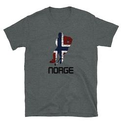 NORGE HOCKEY #4 T-skjorte