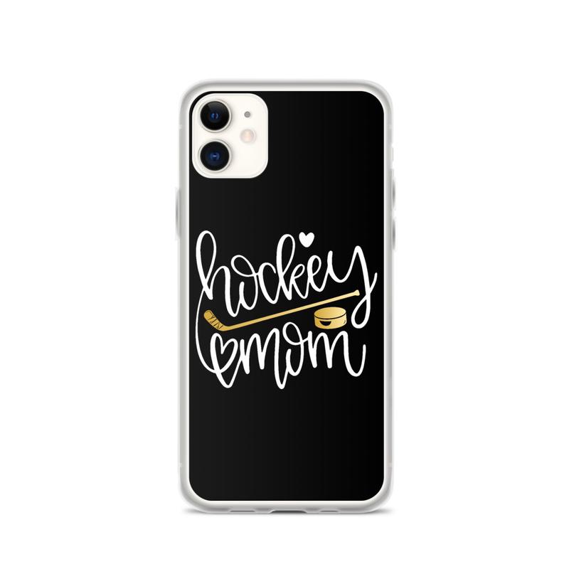 "iPhone Case ''HOCKEY MOM"""