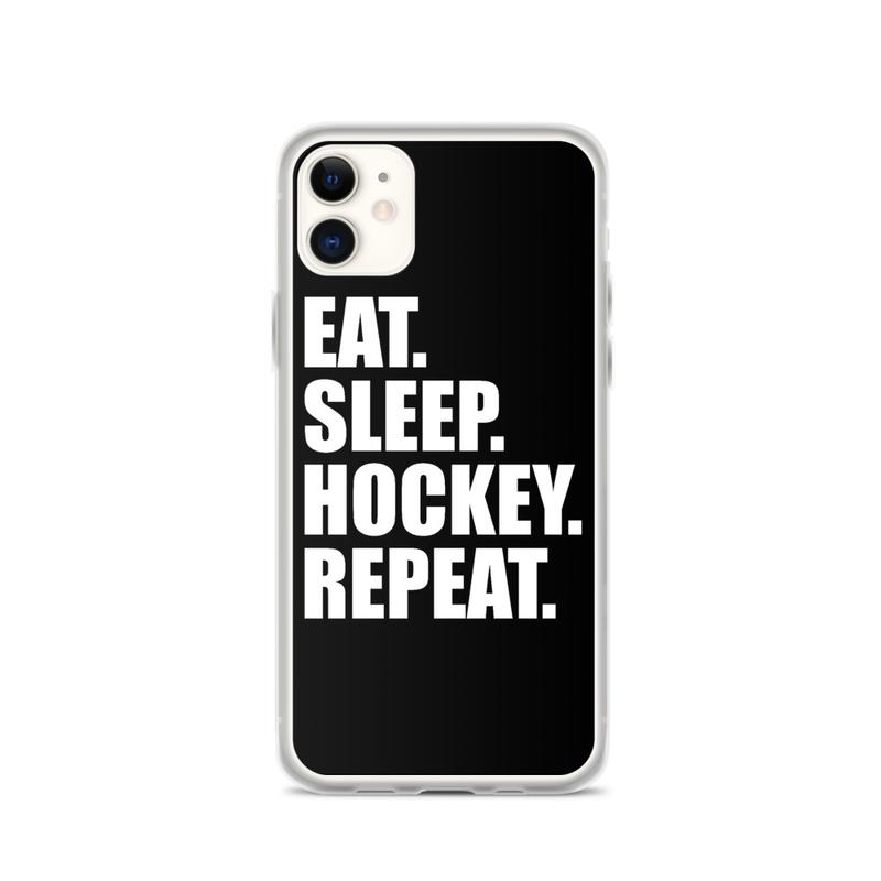 "iPhone Case ''EAT,SLEEP,HOCKEY,REPEAT"""