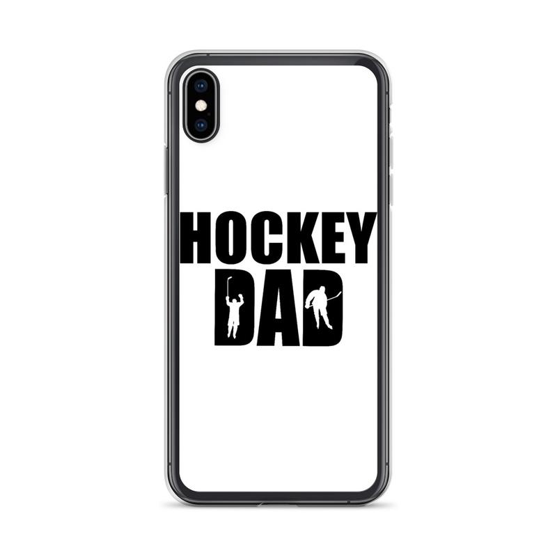 "iPhone Case 'HOCKEY DAD #2"""