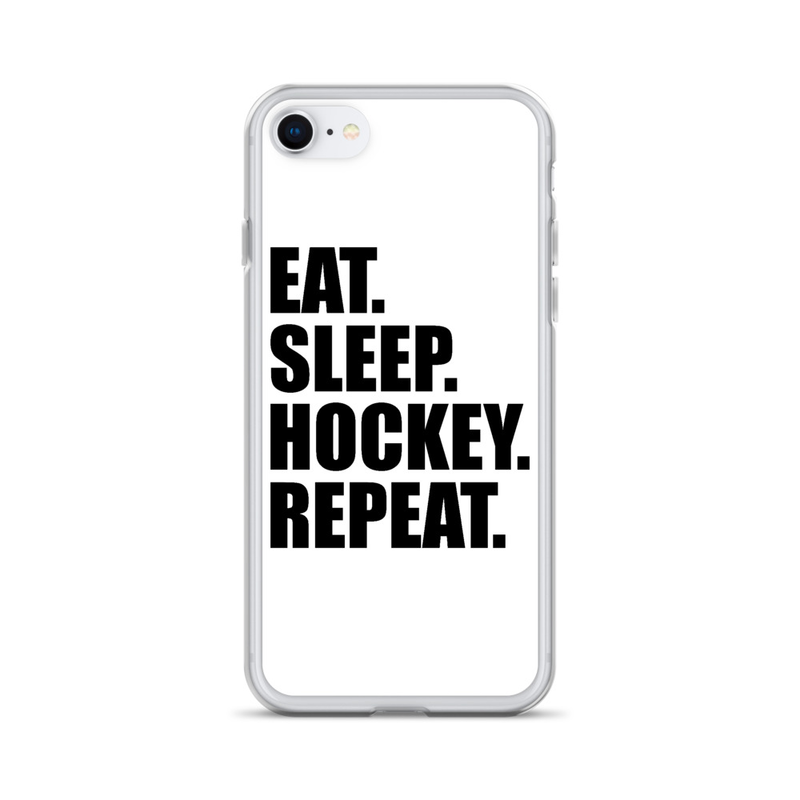 "iPhone Case ''EAT. SLEEP. HOCKEY. REPEAT. #2"""