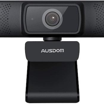 AUSDOM AF640 1080P Webcam Autofokus