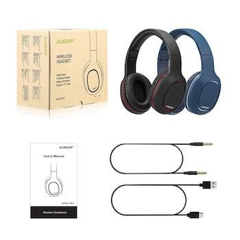 AUSDOM M09 Bluetooth 4.2 med minneskortsplats