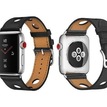 Äkta läder armband till Apple Watch 42/44mm