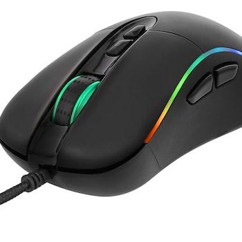 DELTACO GAMING optisk mus, RGB. GAM-019