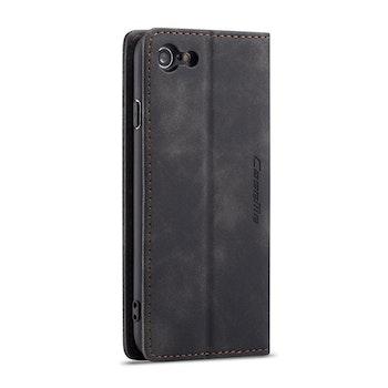 CaseMe-013 Multifunktionellt fodral för iPhone 7 / 8 Mörkbrun