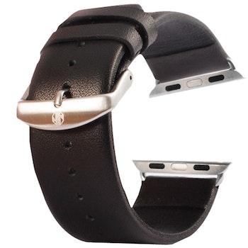 Kakapi Apple watch armband i äkta läder Inkl. fästen. 38/40mm Ljusbrun