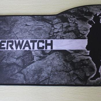 XL Overwatch  E-sport keyboard musmatta, storlek: 73x33/28 cm