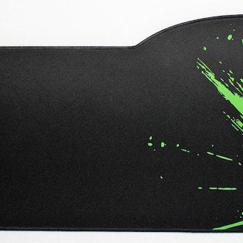 XXL green dragon keyboard musmatta, storlek: 73 cm x 33/28 cm