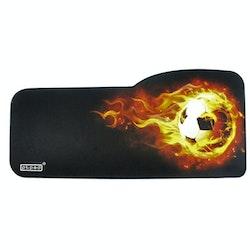 XXL Fotboll E-sport keyboard musmatta, storlek: 73 cm x 33/28 cm