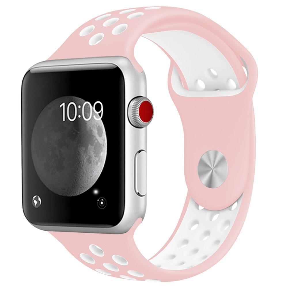 För Apple Watch 42/44mm  Sportigt Klockarmband