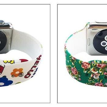 Apple Watch 38/40mm  M/L  mönstrade armband Nr.22