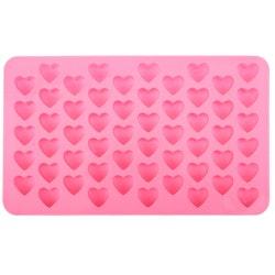 Is/Choklad/Geléform med 55 st hjärtan