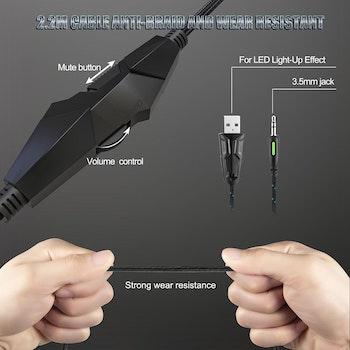 ONIKUMA K19 Gaming Headset med mikrofon