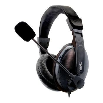 Havit HV-H139D-hörlurar med mikrofon 3,5 mm