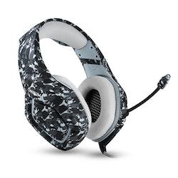 ONIKUMA K1B 3.5mm Stereo gaming headset med Mikrofon camo grå